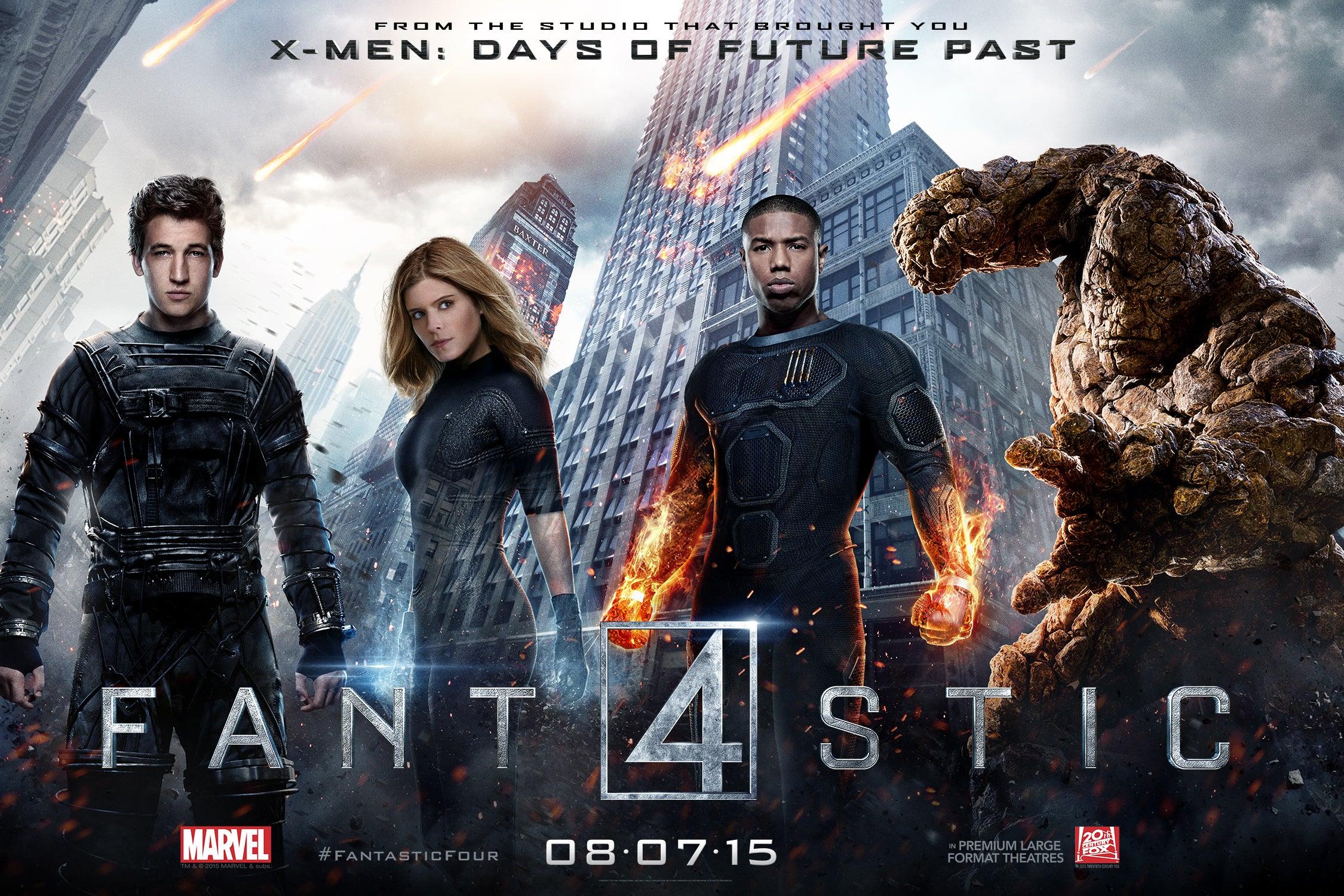 O Filme da Semana - Fantastic Four [2015]