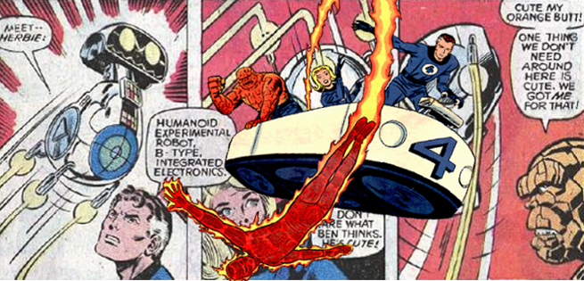 Fox Rejected Plans To Put HERBIE And Fantasticar In Fantastic Four