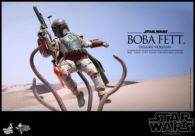 Hot Toys Reveals Boba Fett Figure With Sarlacc's Pit Deluxe
