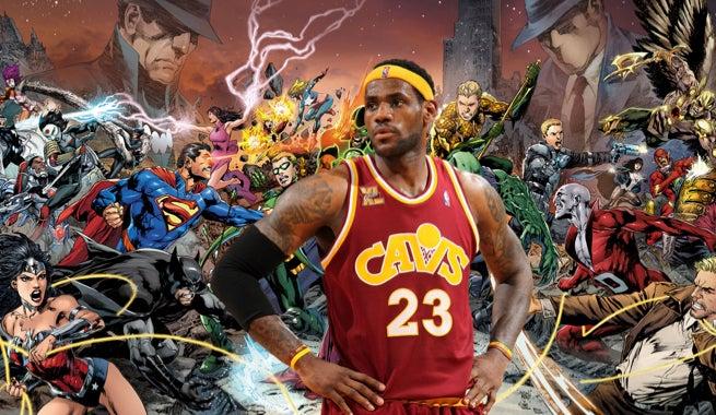 Five DC Comics Superheroes LeBron James Could Play