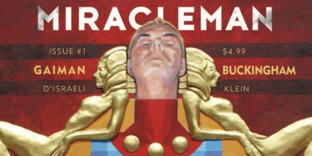 Miracleman by Gaiman and Buckingham 1 Cover