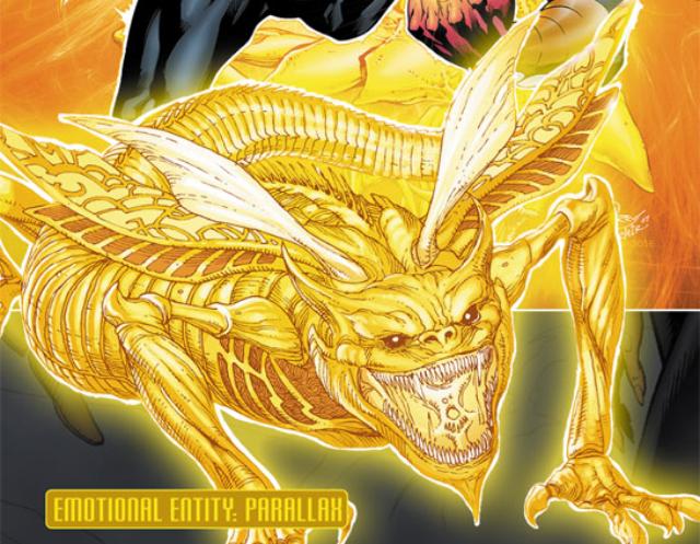 yellow lantern sinestro