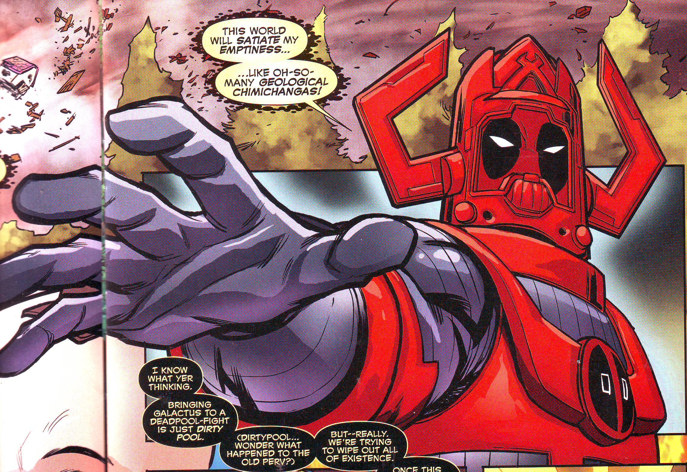 Image Gallery deadpool galactus