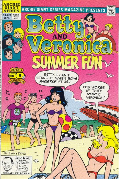 ARCHIE COMICS BETTY AND VERONICA NUDE