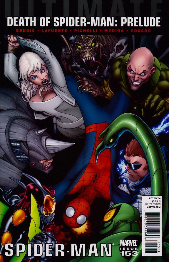 Ultimate spider man comic strip