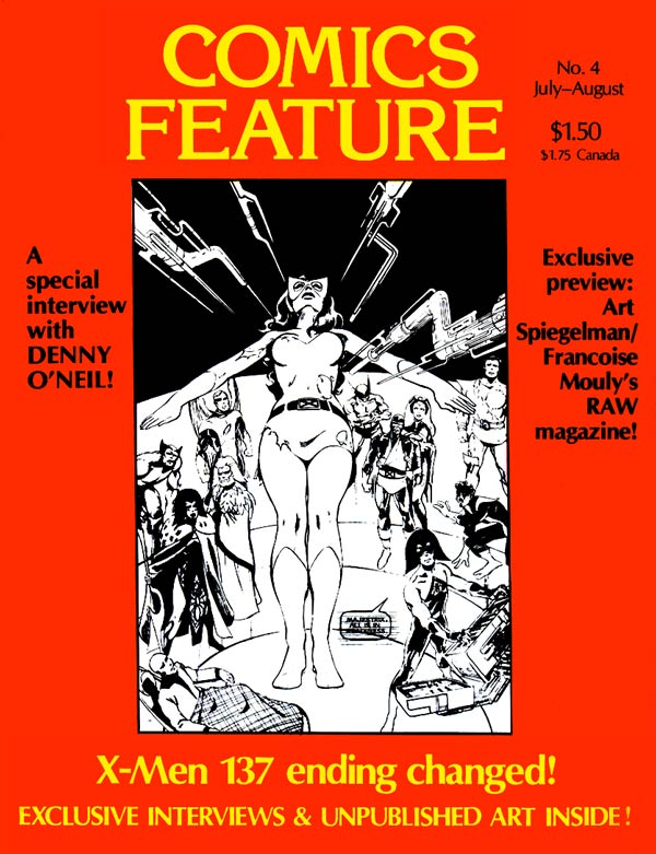 Comics feature