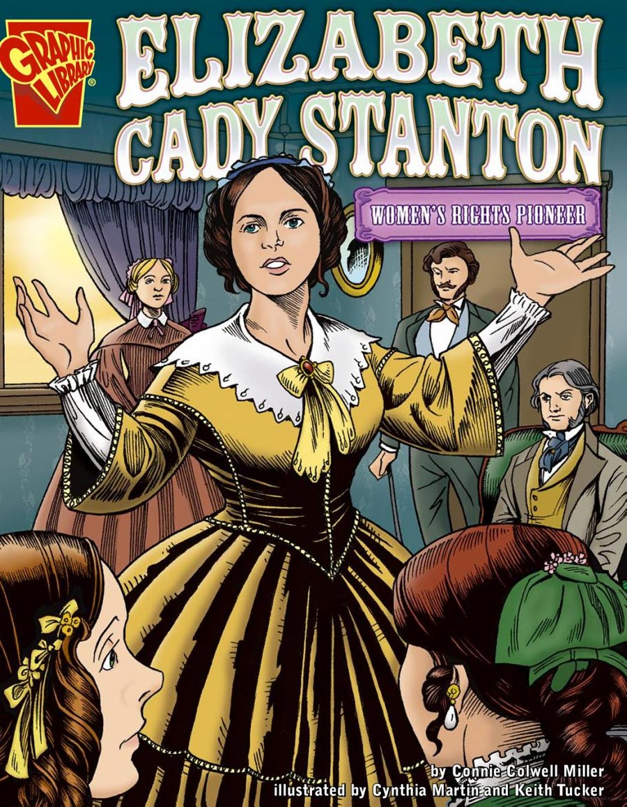 the life of elizabeth cady stanton who fought for the womens right to vote
