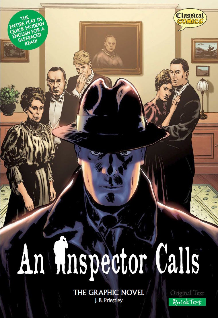 character analysis of inspector goole in an inspector calls a play by john boynton priestley Provoking play an inspector calls is an engaging the characters of birling and goole in an inspector inspector priestley calls for a change in.