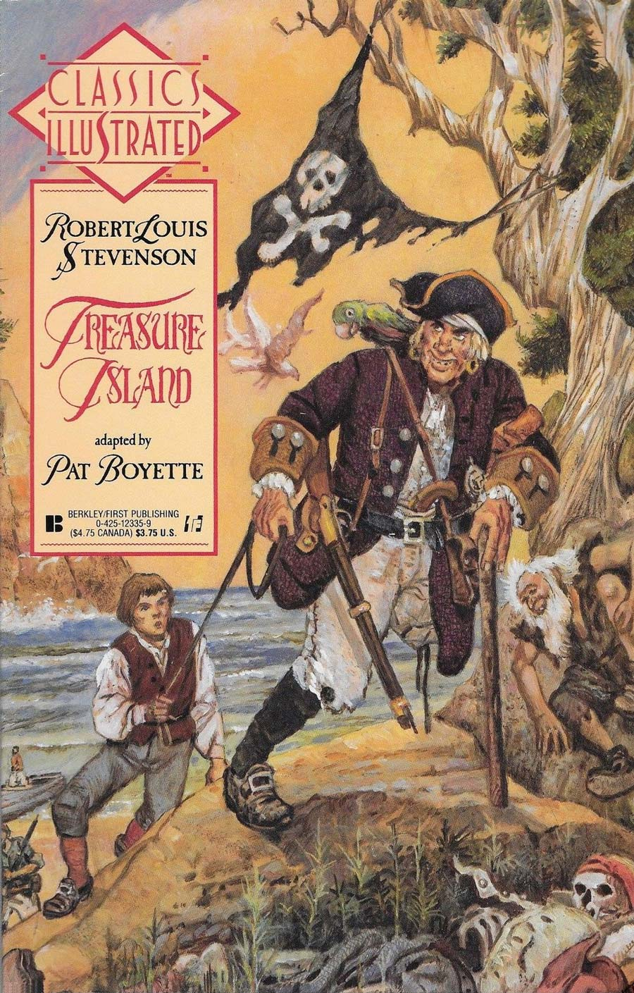 a review of treasure island by robert louis stevenson