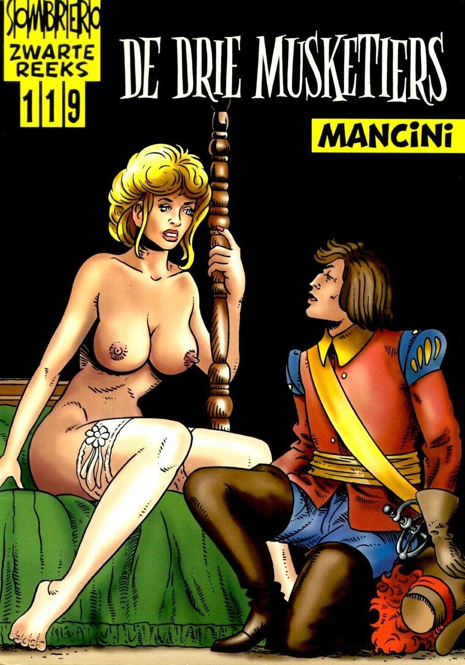 Порно про трех мушкетеров