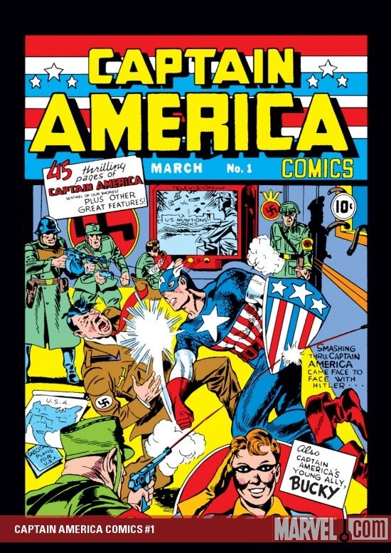Captain America Comics 1 Value 8 Captain America Comics 1