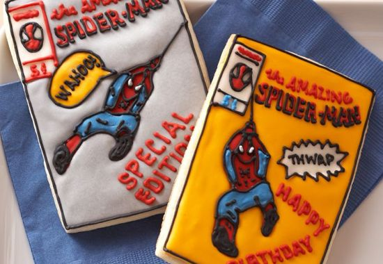 Marvel Comics Williams Sonoma Cookies