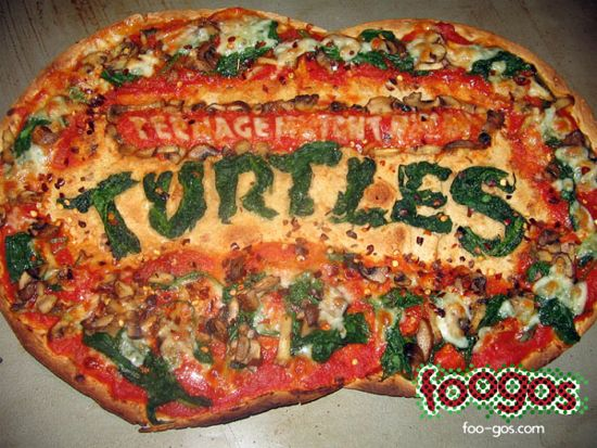 Foogos Teenage Mutatn Ninja Turtles Pizza