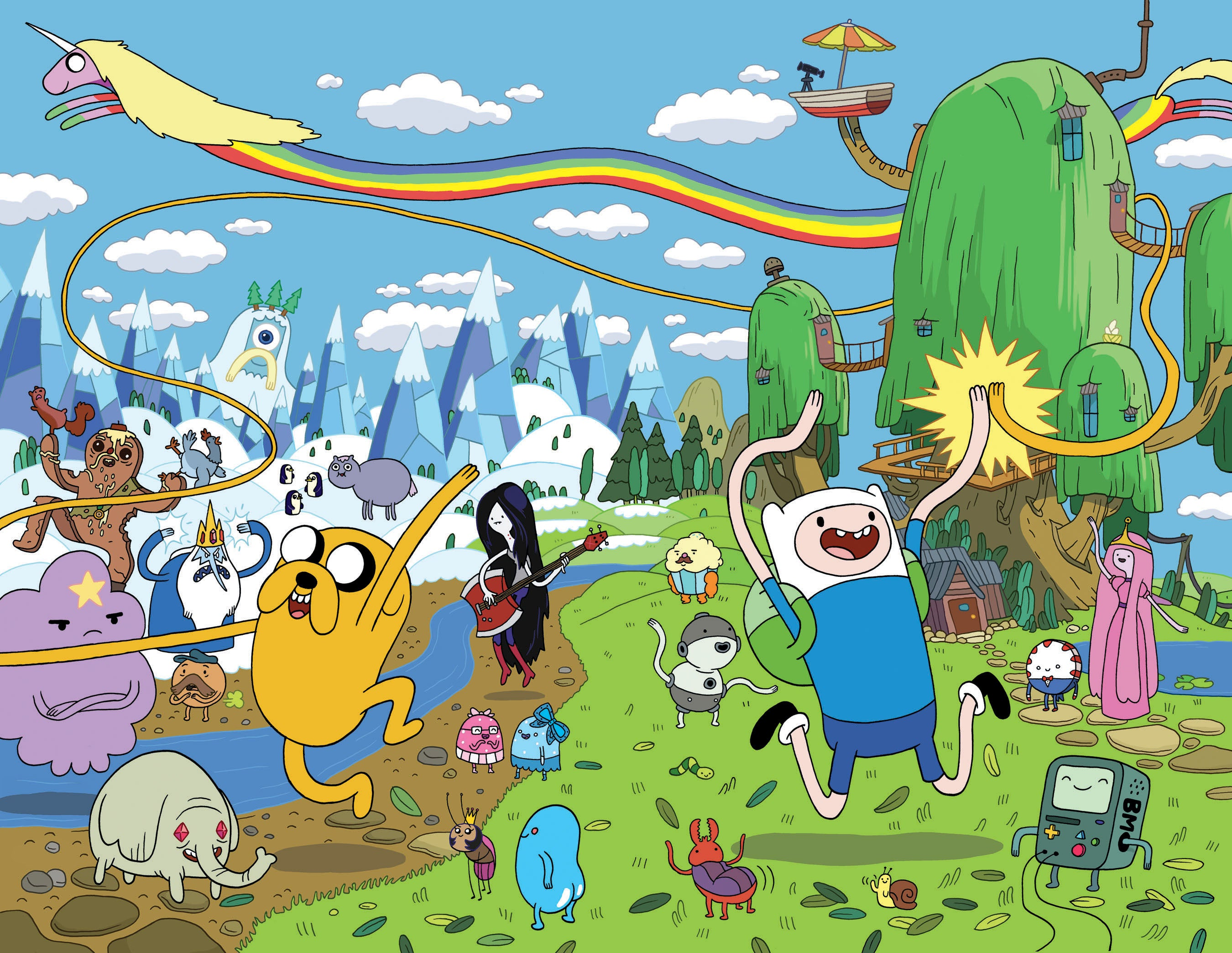 Adventure Time Superhero Adventure Time