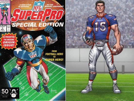 nfl superpro tim tebow Comic Watch:  Its Tebow Time!