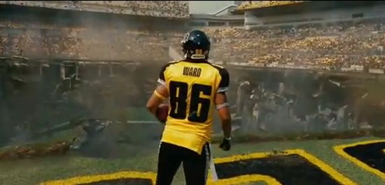 The Dark Knight Rises Hines Ward