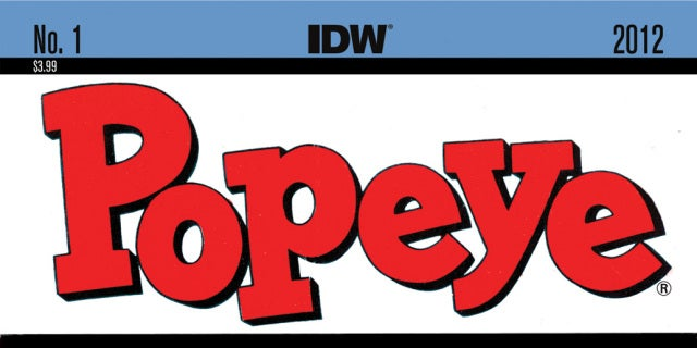 Popeye, IDW Publishing