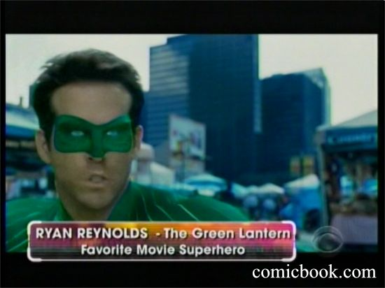 Green Lantern People's Choice Award