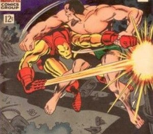 Iron Man vs Sub-Mariner