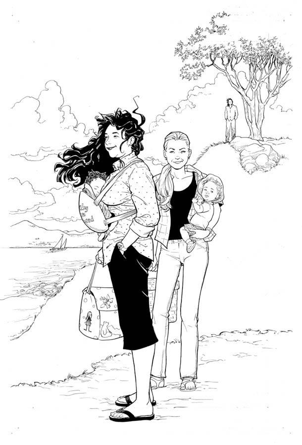 Terry Moore comics