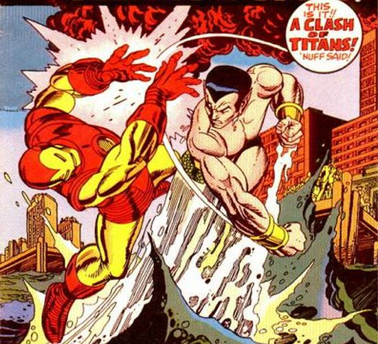 Sub-Mariner Vs. Iron Man