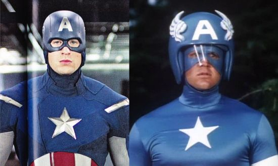 Captain America Worst Helmet Ever