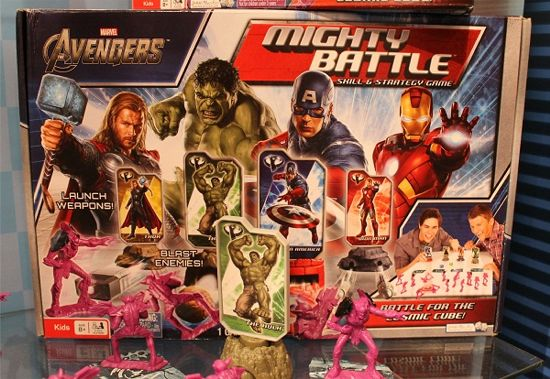 Skrulls Mighty Battle Avengers Game