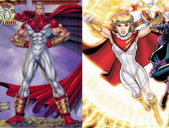 power girl gets a controversial new costume