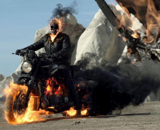 Ghost Rider vs Flash Ghost Rider in The Avengers