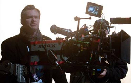 Christopher Nolan Screens Dark Knight Rises
