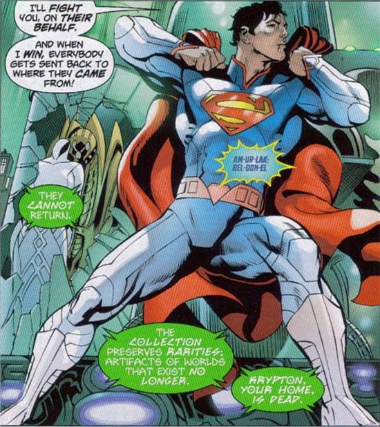 Is Superman's Power Now In His Suit?