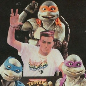 Vanilla Ice Teenage Mutant Ninja Turtles
