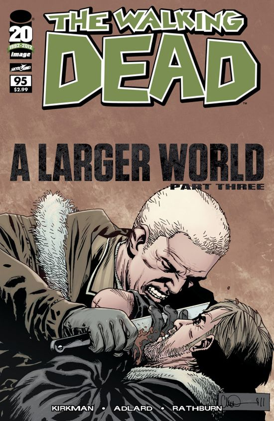 Walking Dead 95 Cover