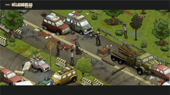Walking Dead Facebook Game
