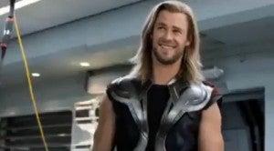 Thor is a demigod
