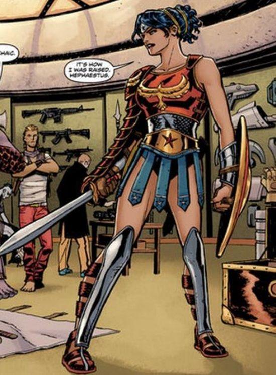 Wonder Woman New 52 Pants Wonder Woman Ge...