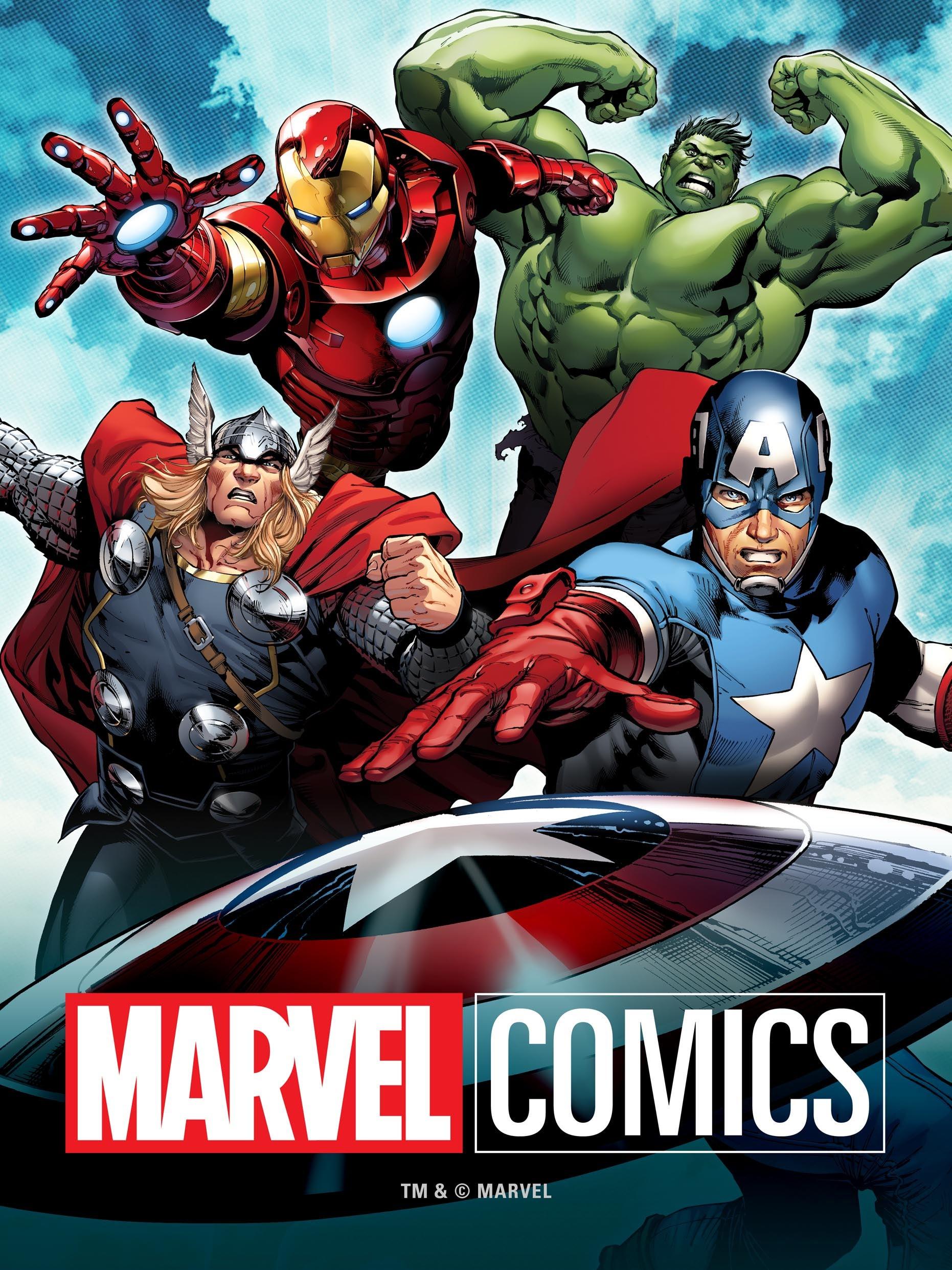 English comics books free