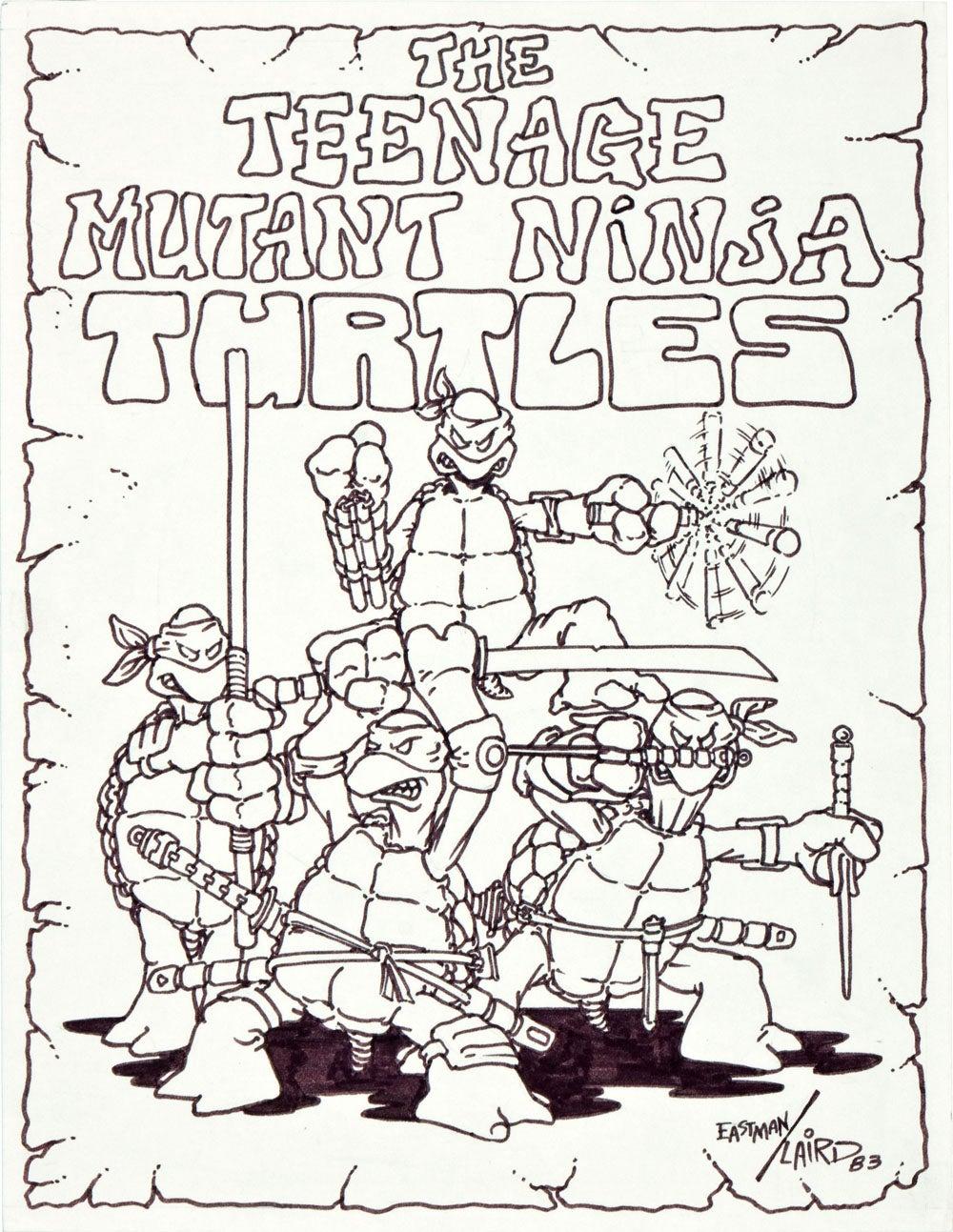 ninja våben tegninger