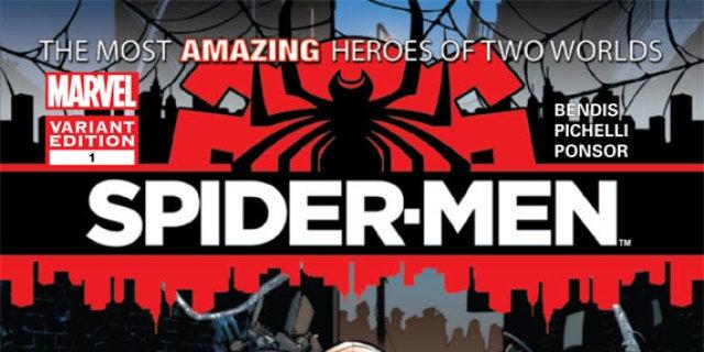 SpiderMen_1_CoverVariantPichelli