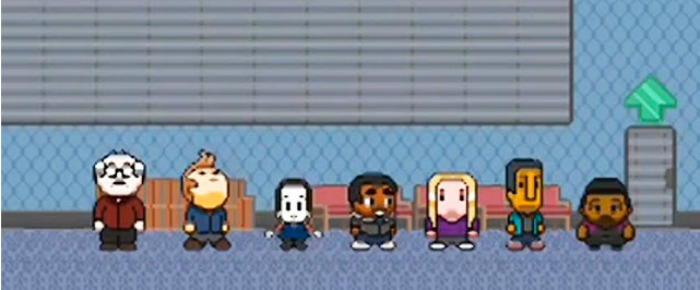 Community 8-Bit Video Game Available For Free Download