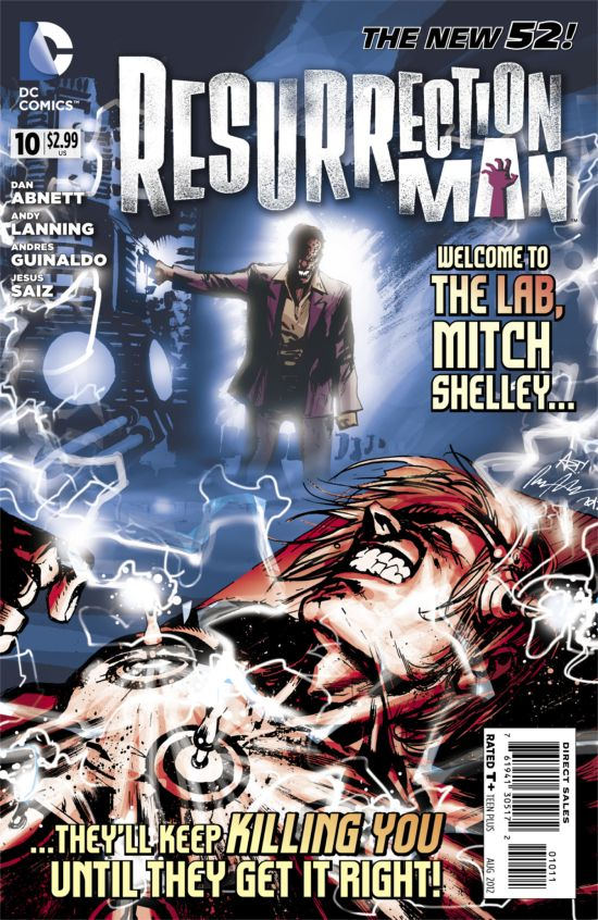 Resurrection Man #10 Cover