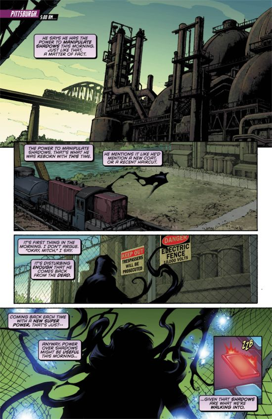 Resurrection Man 10 Page 1