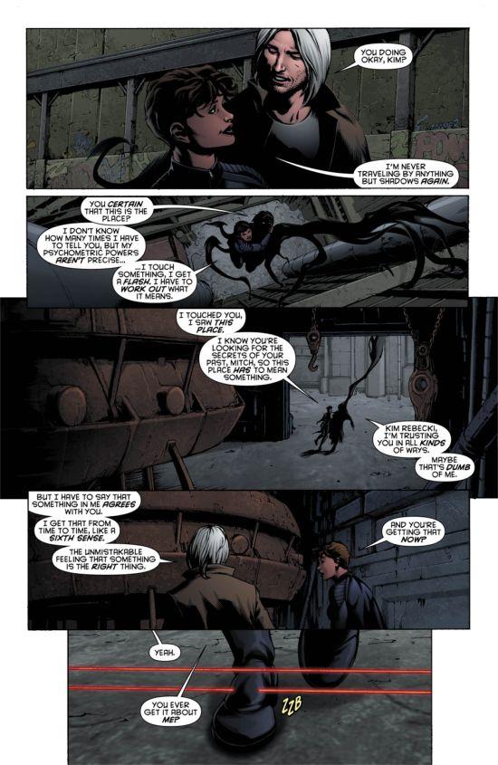 Resurrection Man #10 Page 3