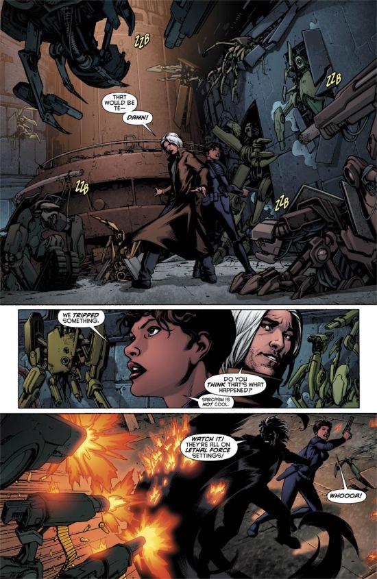 Resurrection Man #10 Page 4