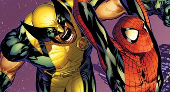 Spider-Man and Wolverine