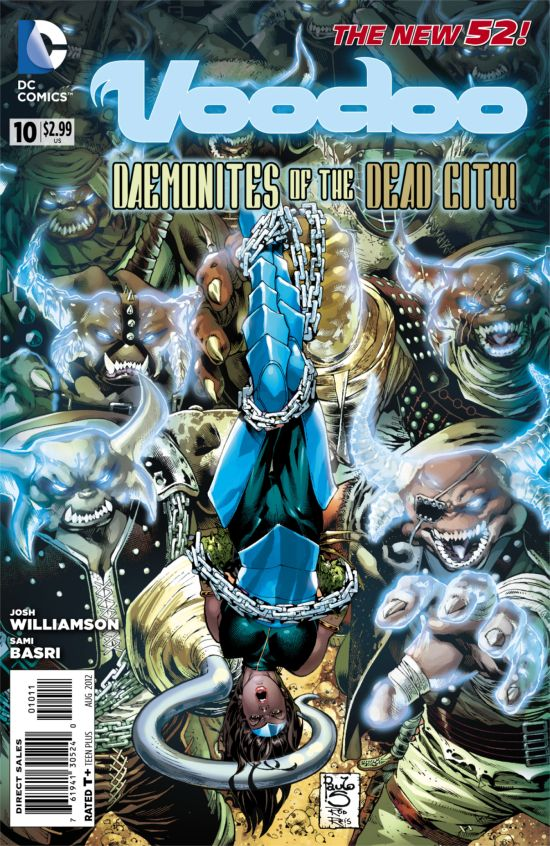 Voodoo #10 Cover