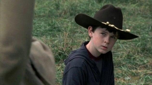 of The Walking Dead  Walking Dead Carl