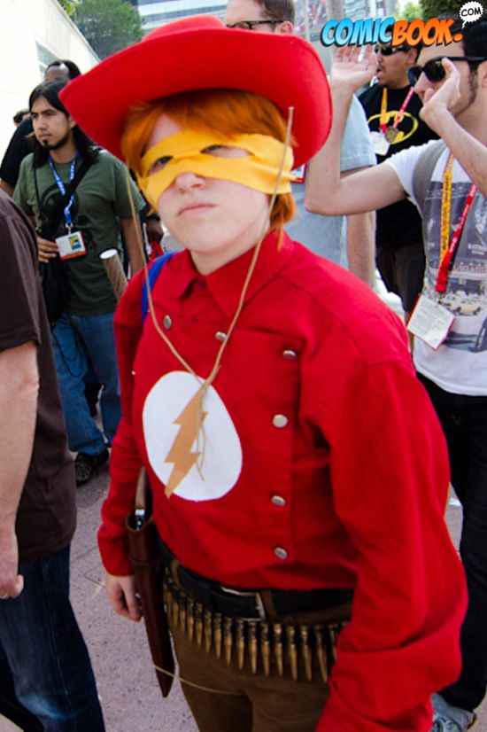 Cosplay Western Flash
