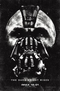 The Dark Knight Rises IMAX Premiere poster