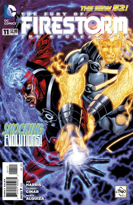 Firestorm #11 Cover